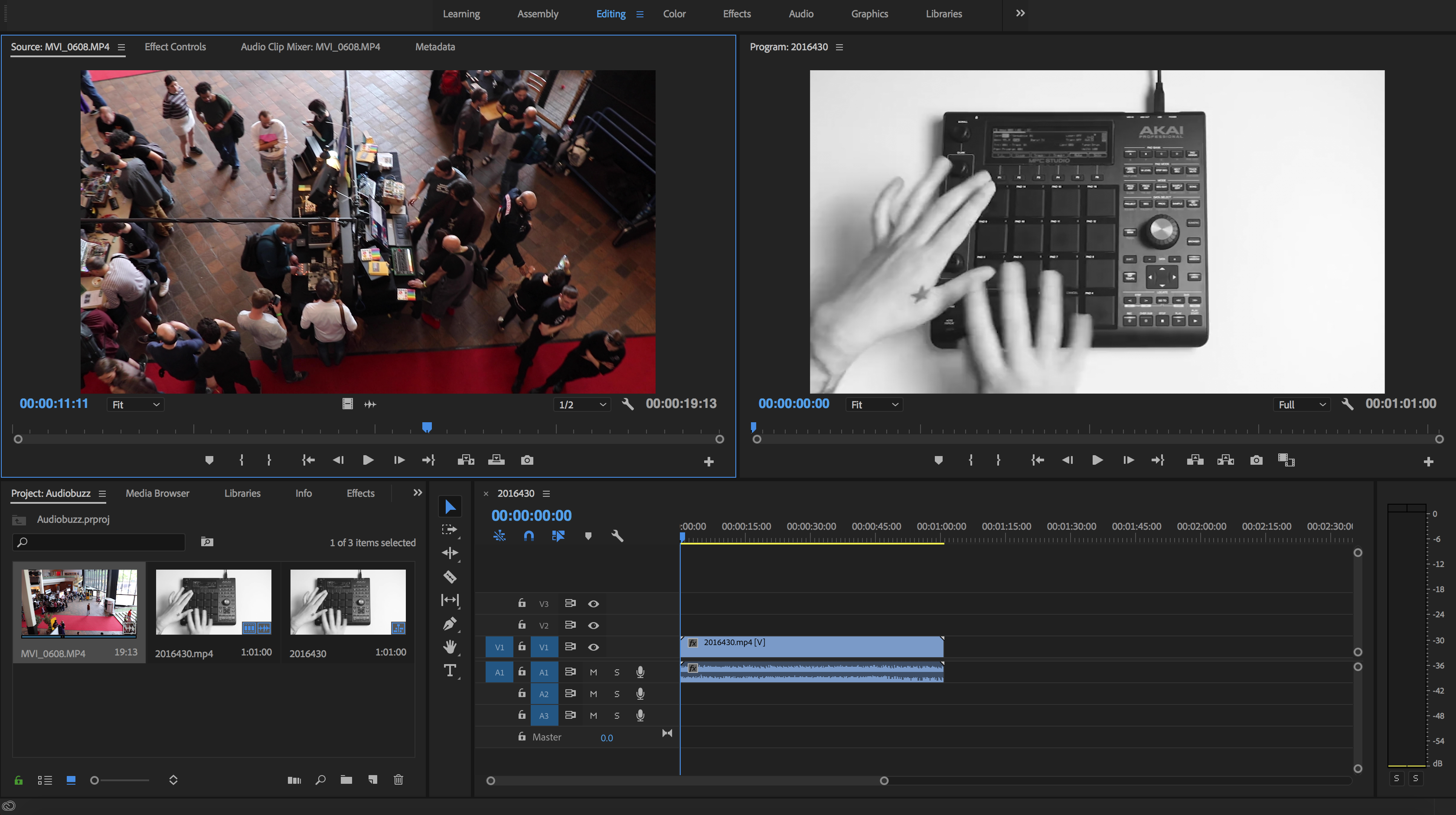 How to use Adobe Premiere Pro - Editing Layout Window